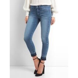 GAP MID RISE FAVORITE JEGGINGS WITH BRUSHES LINING